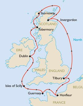 5th Unlock the Past Cruise - British Isles Discovery