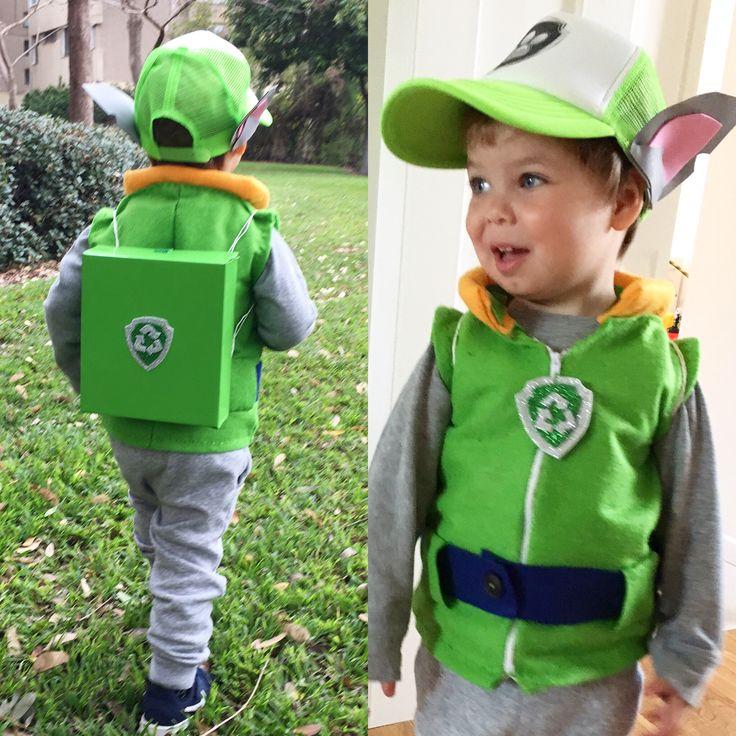 Rocky paw patrol DIY costume