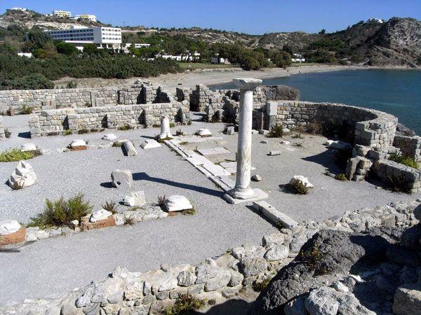 Early Christian Basilicas of Agios Stefanos Kos Island Dodecannese