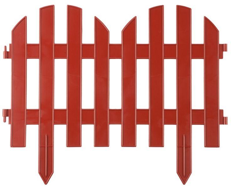 """Декор и ландшафтный дизайн → Садовые ограждения, бордюры для клумб: Забор декоративный """"Палисадник"""", белый, Забор декоративный """"Палисадник"""", светло-коричневый, Забор декоративный """"Палисадник"""", тёмно-коричневый и др."""