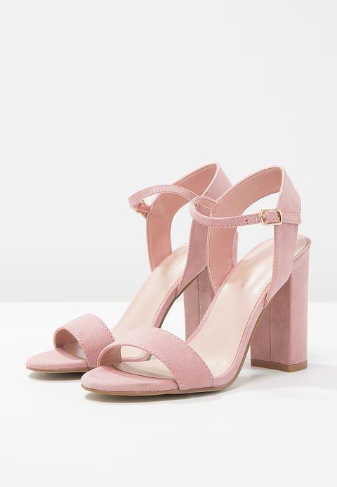 New Look STRIKE - Sandaler med høye hæler - light pink - Zalando.no