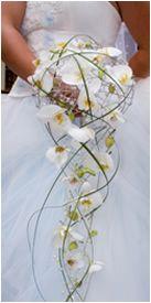 ramos con orquideas | cascada de orquideas espectacular ramo de orquideas cymbidium blancas ...