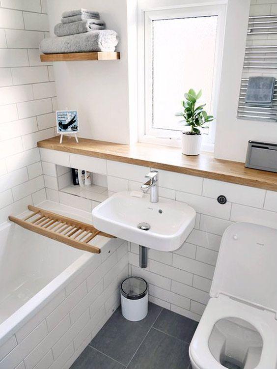 small bathroom renovation | Bathroom Decor | Pinterest ...