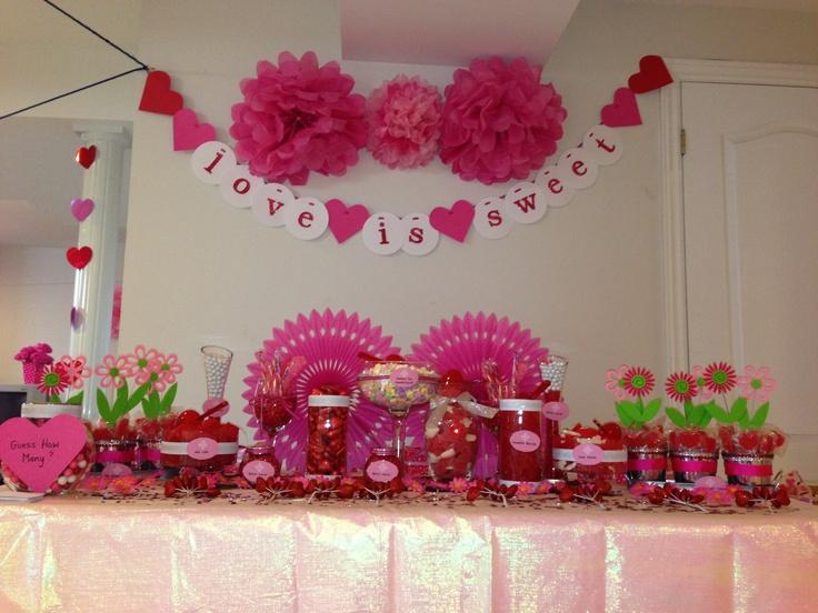 82 best Bridal Shower Candy Buffet images on Pinterest ...