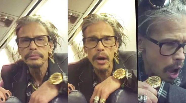 Steven Tyler earned himself a lifetime fan when he sat in front of one lucky little girl on a Southwest Airlines flight...