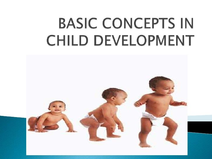 Child Development list of things to study at university