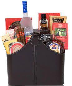 Gentleman's Party Liquor Gift Basket                                                                                                                                                                                 More