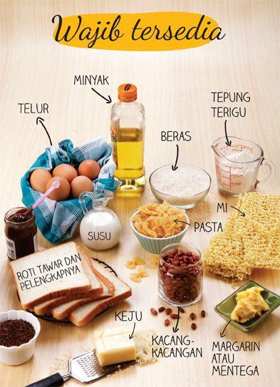 Bahan Wajib Tersedia di Dapur :: Your Kitchen's must have items ::