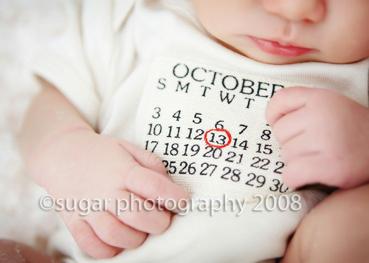 The calendar onesie! What's not to love?