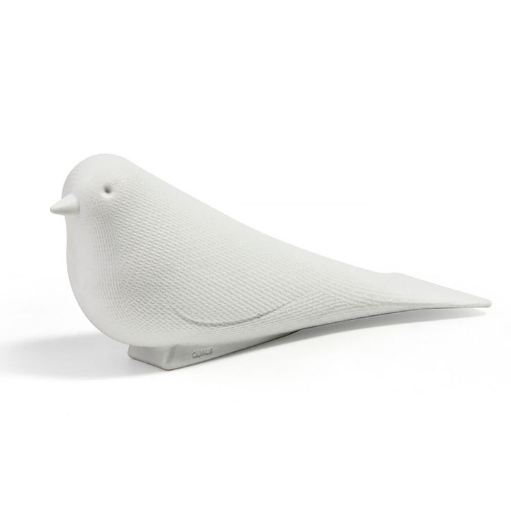 top3 by design - Qualy - door stopper dove white