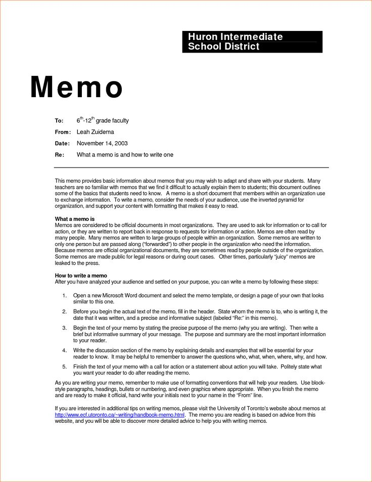 22 best Business memo Template images on Pinterest Business memo - memo formats