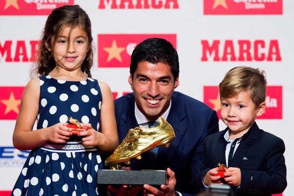 Luis Suárez obtiene la Bota de Oro por Segunda Vez