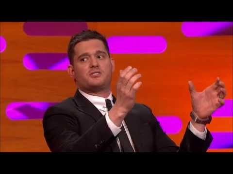 The Graham Norton Show S13E02 with guests Amanda Holden, Jack Dee and Michael Buble 44 minutes....so funny!! Love him!