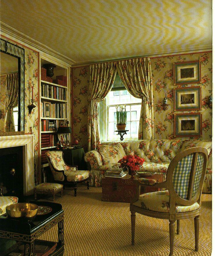 Green Living Room Ideas In East Hampton New York: 195 Best Images About Designer: Mark Hampton On Pinterest
