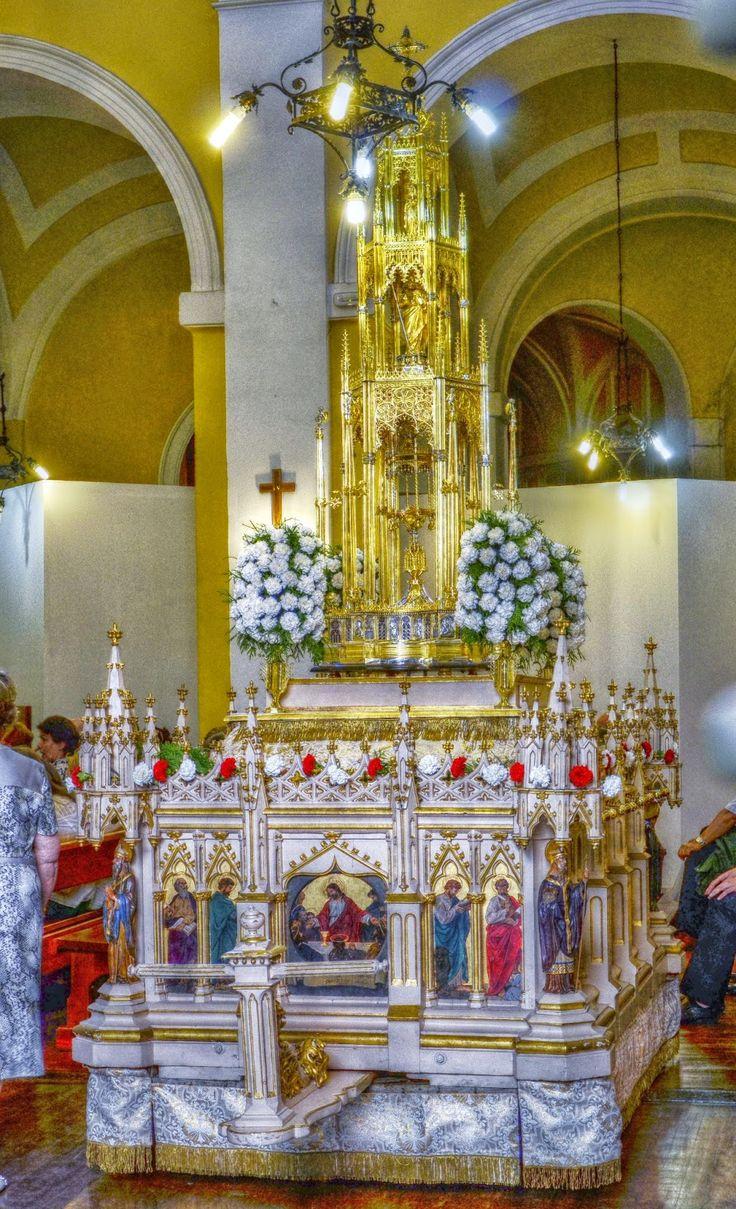 CUSTODIA DE SANTO TOME. CORPUS CHICO, 10 DÍAS DESPUÉS DE LA CELEBRACIÓN DEL CORPUS CHRISTI DE TOLEDO.