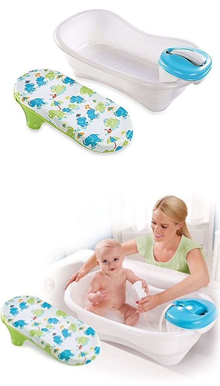 Newborn Infant Bath On Our List Of The Best Baby Tubs Is The Summer Infant