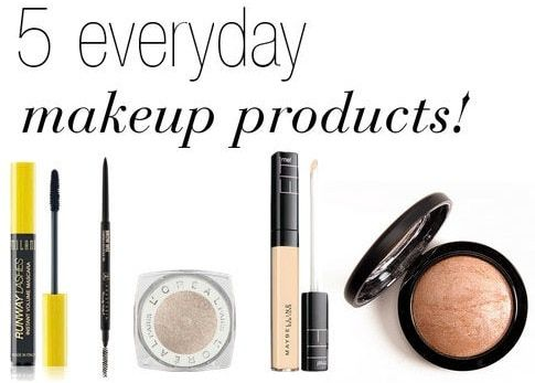 5 Must-Have Products for Your Makeup Bag