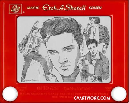 15 Amazing Etch-a-Sketch Artworks (etch a sketch, etch a sketch art) - ODDEE