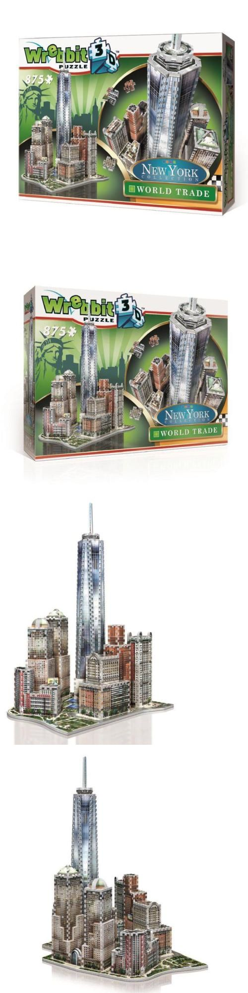 3D Puzzles 19186 Wrebbit Puzzle New York Collection World Trade Center 875 Pcs