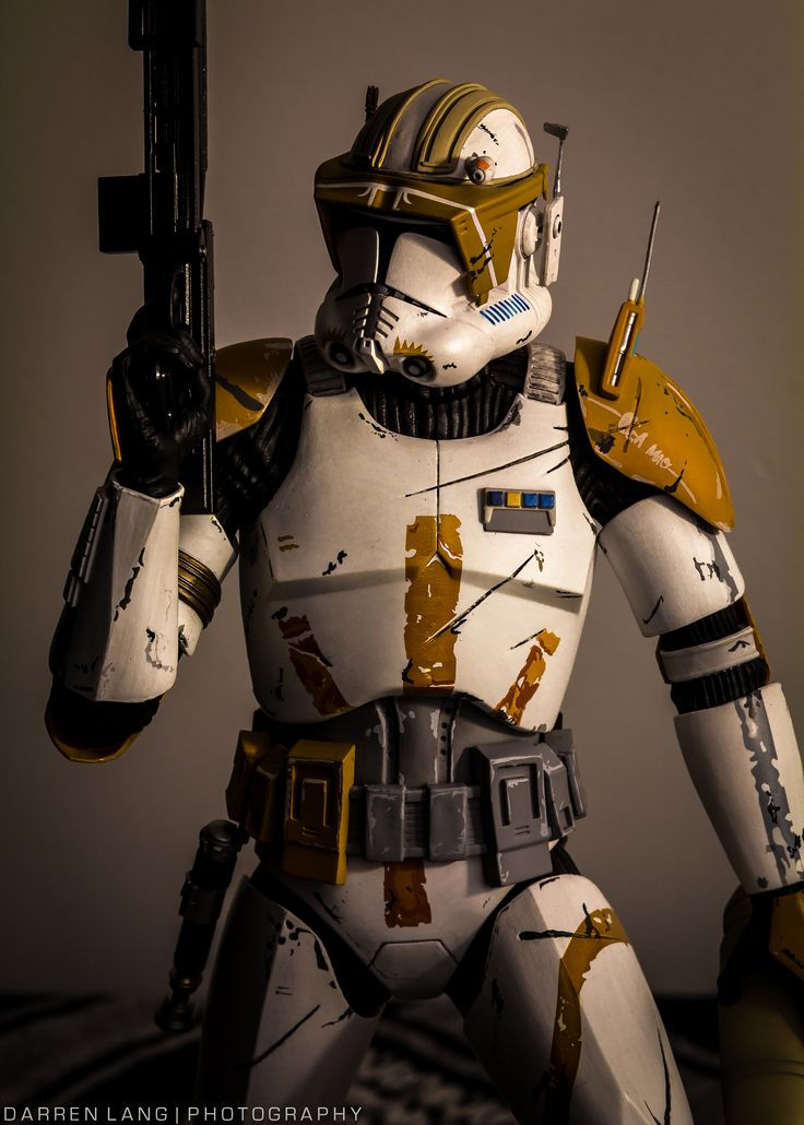 "Clone Marshal Commander CC-2224 ""Cody"", leader of the 7th Sky Corp (though he often took personal command of the 212th Attack Battalion) 