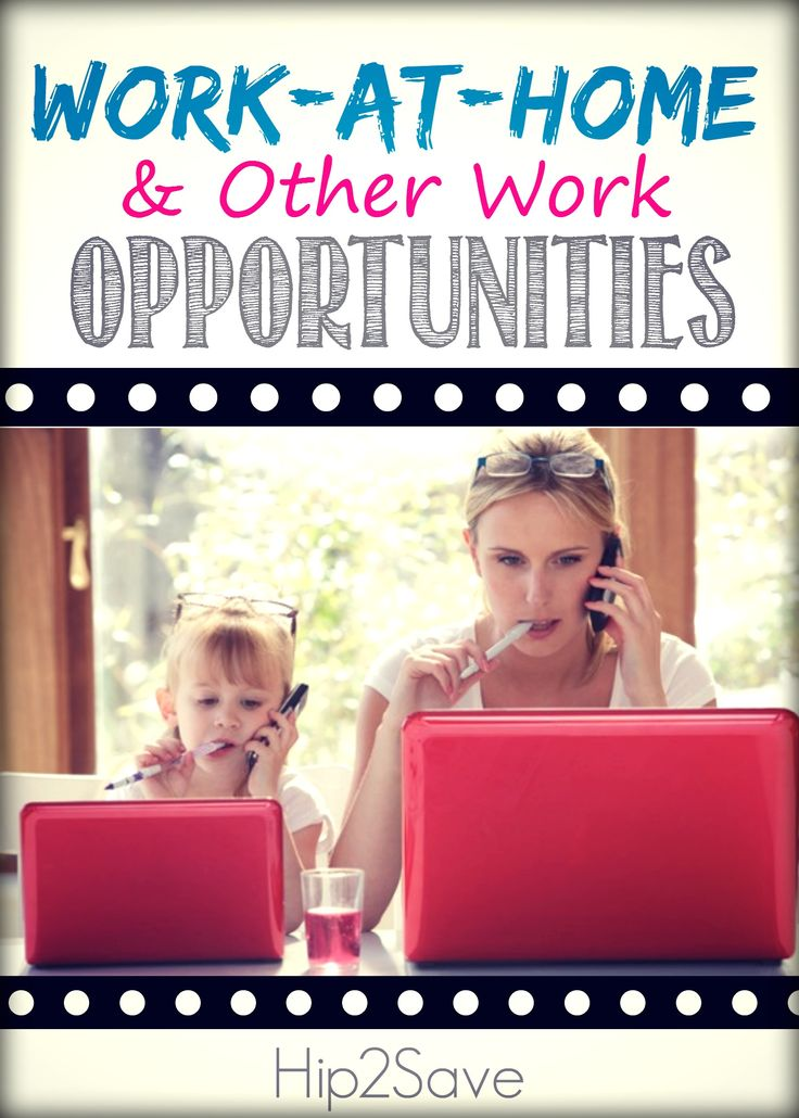 Work-At-Home & Other Work Opportunities – Hip2Save Freelance Writing  Remote Work