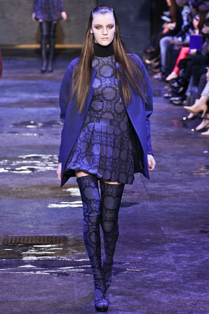 winter clothes Versus Versace Fall 2012 Ready to Wear Collection Photos   Vogue