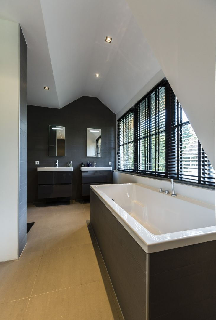 Badkamermeubel plank - Open badkamer ...