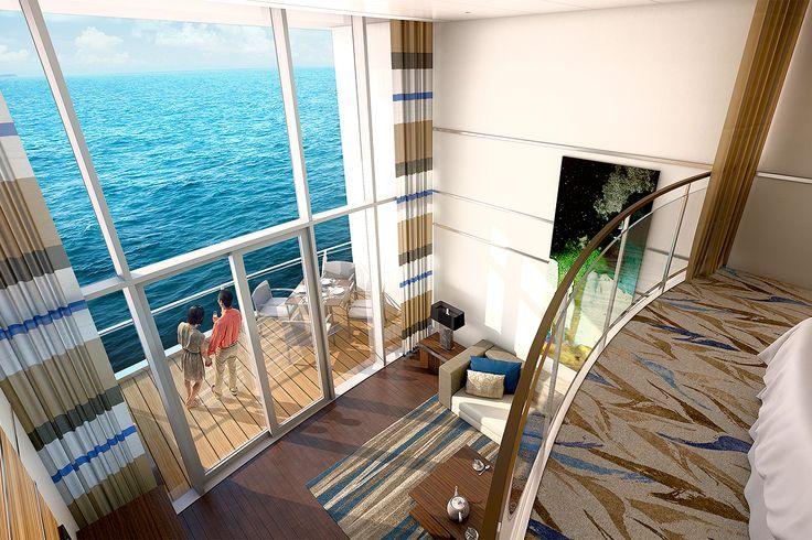Just imagine waking up to this view! Image @royalcaribbean  #sunday #cruising