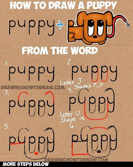 Как нарисовать Puppy