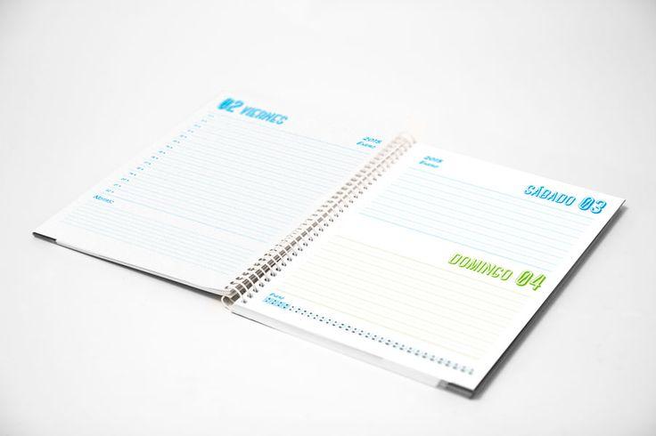 Plantilla Agenda diaria escolar 2015-2016