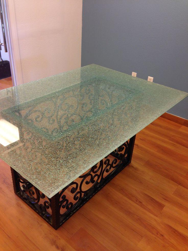 Round Plexiglass Table Topper