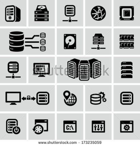 stock-vector-server-icons-173235059.jpg (450×470)
