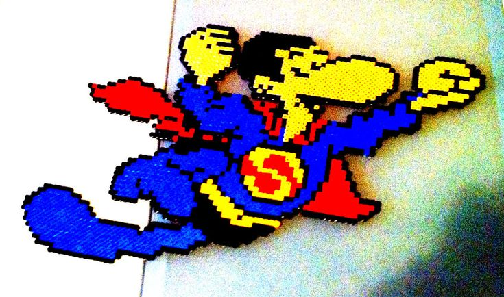 Super Lopez hama beads by GuSRocO