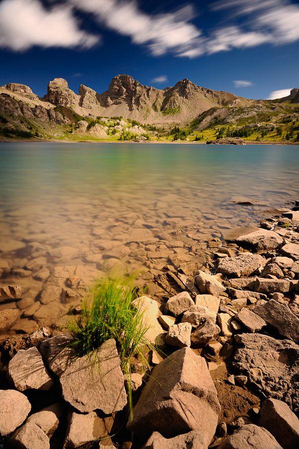 Lake Allos, Mercantour National Park, Provence-Alpes-Côte d'Azur