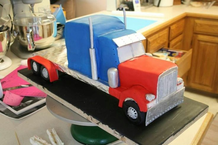 Top 25 Ideas About Truck Cake Tutorials On Pinterest