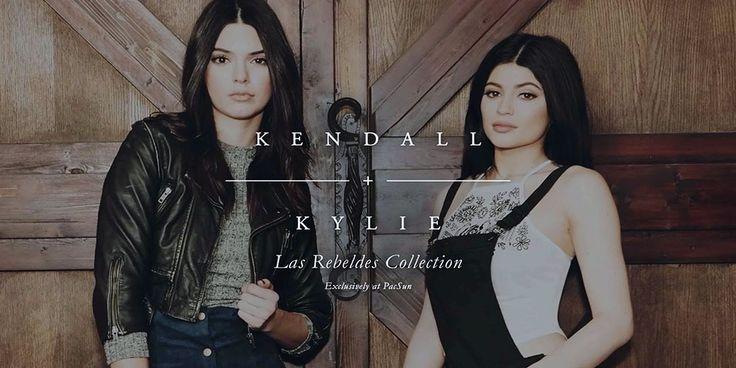 Кендалл и Кайли Дженнер в осенней коллекции 2015 от PacSun