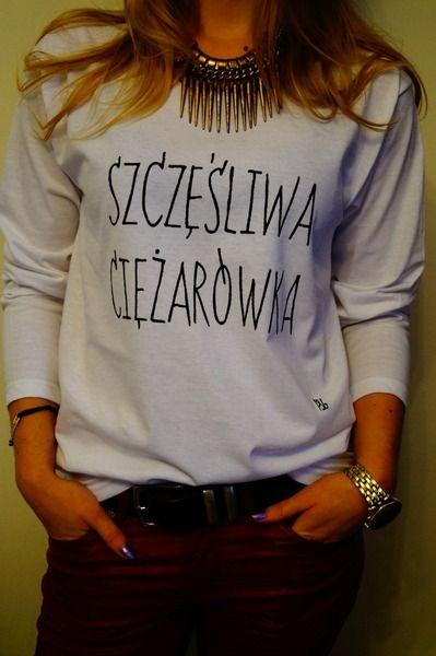 I&G BLUZECZKA DLA CIĘŻARÓWKI RĘCZNIE MALOWANA  w I&G DIY FOR YOU na DaWanda.com