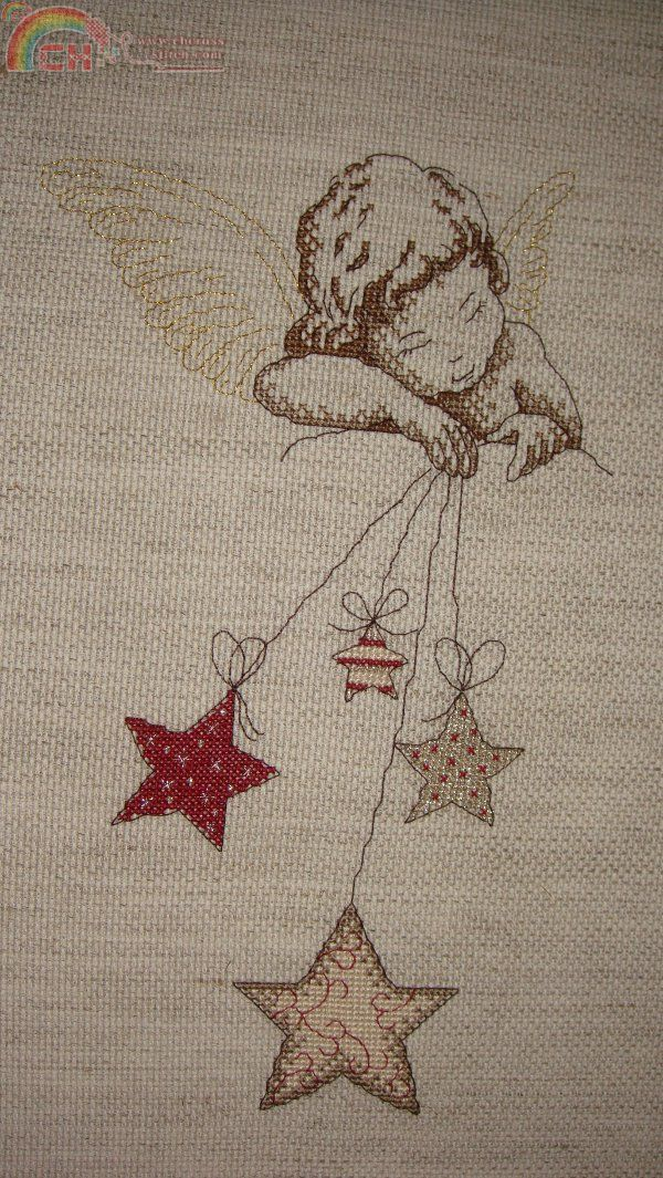 Edited by anniekins at 2014-11-4 13:14 2014-11-5 02:14 TéléchargezTéléch. Pièce jointe (198.38 KB)my first christmas project this year ...
