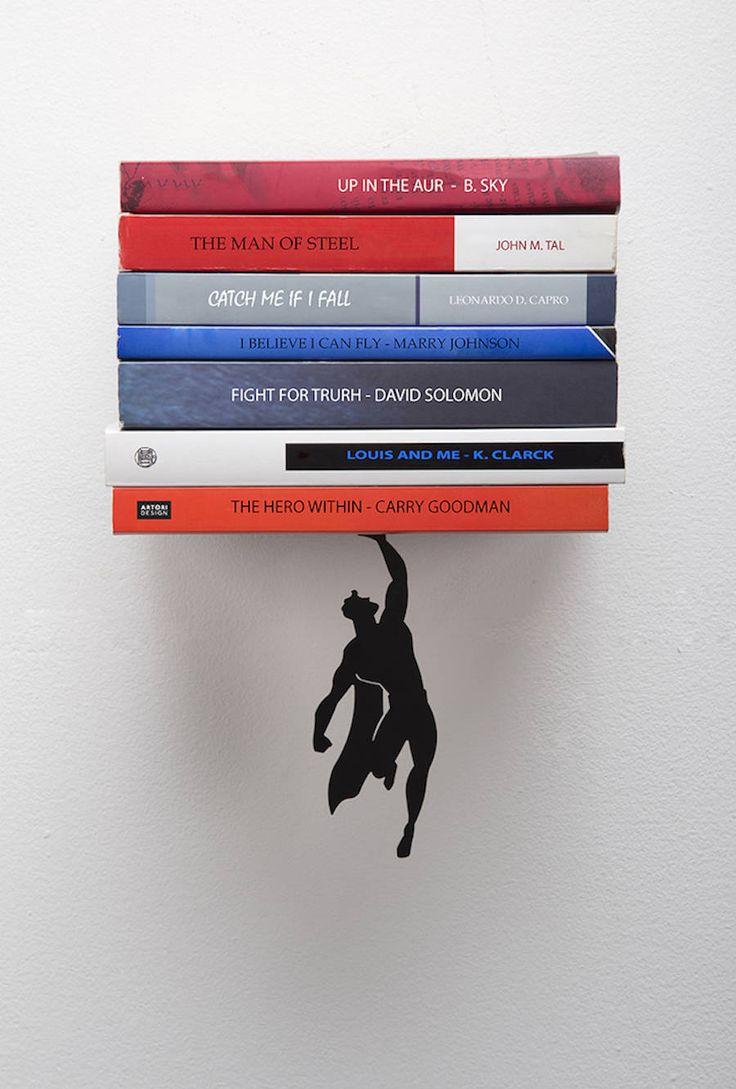 The Superhero Bookshelf – Fubiz Media