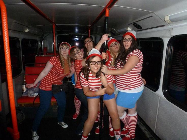 Glasgow Party Bus April 2013