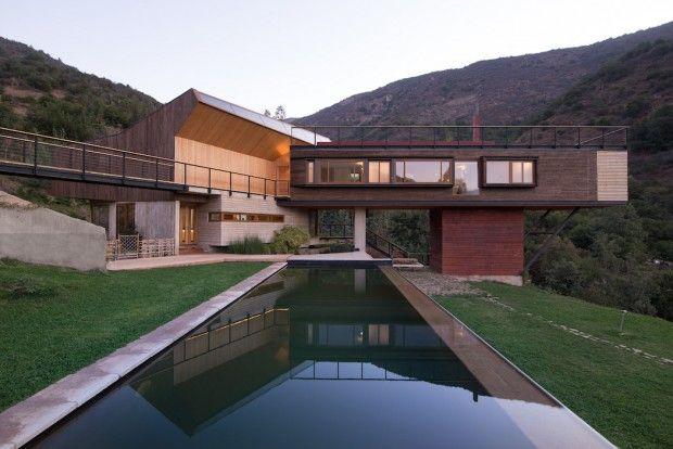 Casa El Maqui au Chili par le studio GITC - Journal du Design