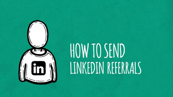 how to send linkedin link