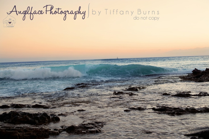 Pastel Sunset. Awesome bathroom Print Oahu - Angelface Photography by Tiffany Burns
