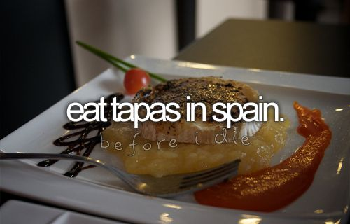 check.: Buckets Lists Eating, Buckets Lists Spain, Spain Buckets Lists, Spanish Tapas, Eating Tapas, Summer Buckets Lists, The, Travel Lists, Spain Bucketlist