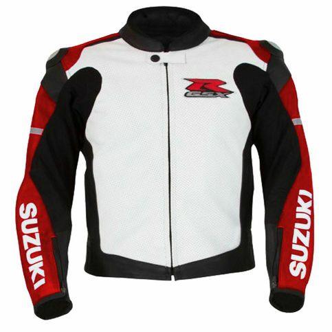 Gsxr Suzuki Motorcycle Leather Racing Jackets Motorbike Sports