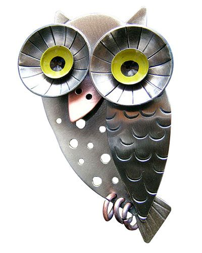 industrial owl pin: Owl Jewelry, Owl Pin, Jewelry Accessories, Owls Owls, Wise Owl, Owls Jewelery, Products, Hoot Pin