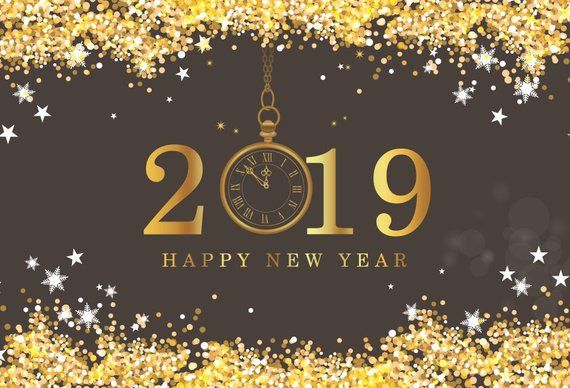 New Year S Backdrop Party Photography Happy New Year Party Banner