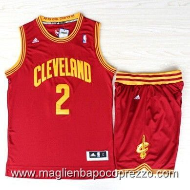 maglie basket nba Cleveland Cavaliers abiti Shorts IRVING #2 - rosso €22.50