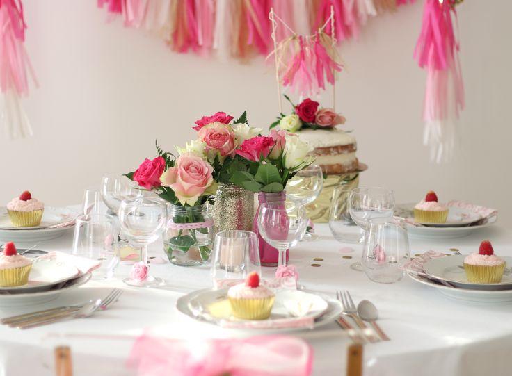 decoration rose et or. Black Bedroom Furniture Sets. Home Design Ideas