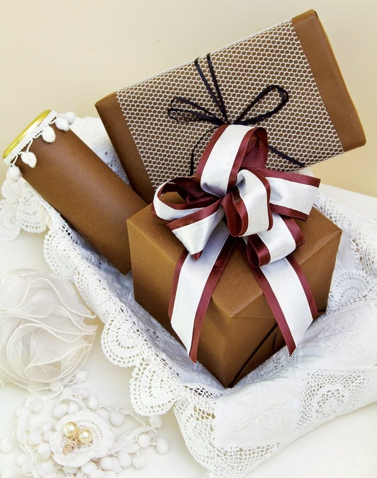 earthy tones for elegant gifting options Wrapping